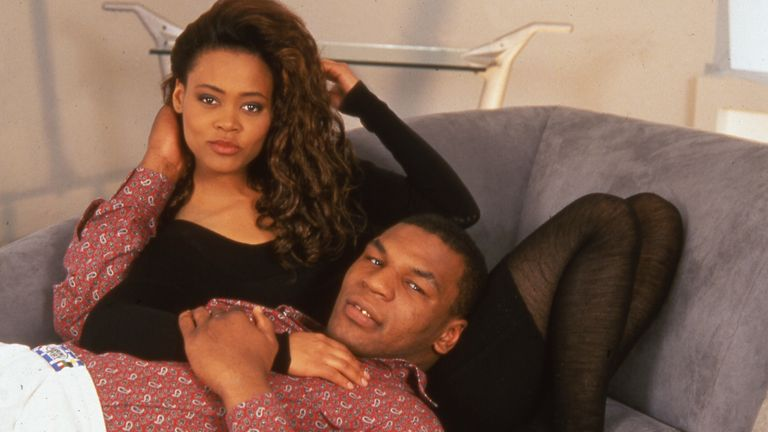 Tyson and Robin Givens