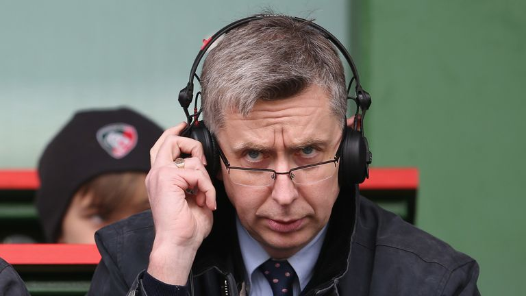 Sky Sports rugby union commentator Miles Harrison