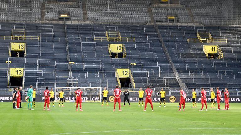 Borussia Dortmund - Bayern Munich at Signal Iduna Park