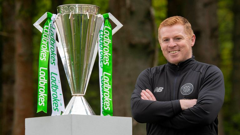 Neil Lennon's Celtic have been crowned Premiership champions after the season was ended early