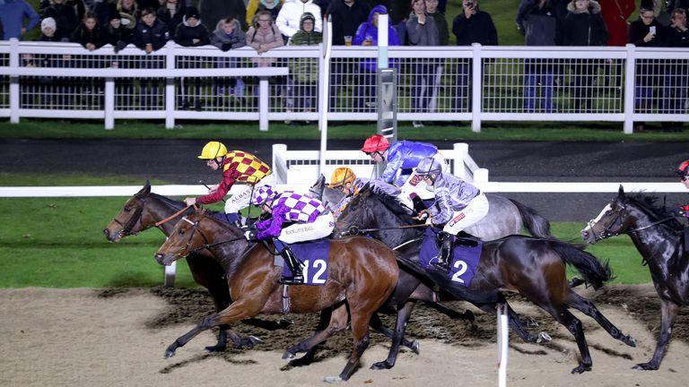 Flat racing at Newcastle