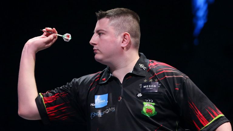 The Welshman is bidding to upset the odds in the Home Tour Play-Offs on Thursday night