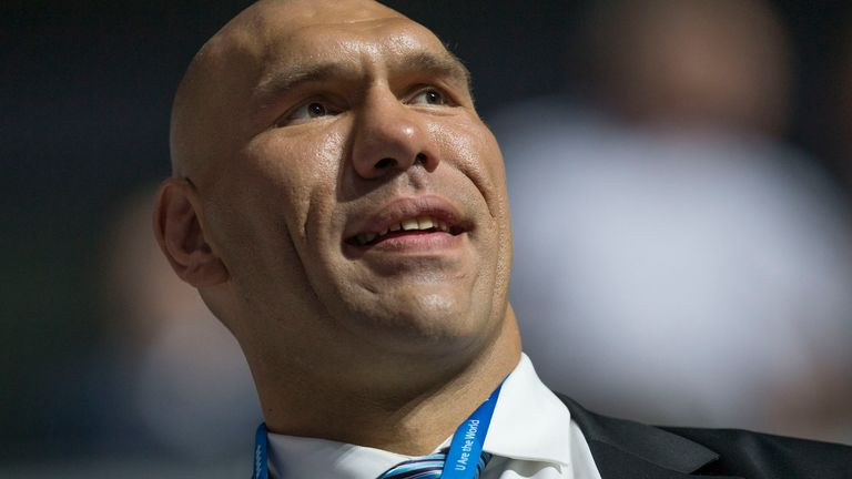 Valuev is currently a politician in Russia