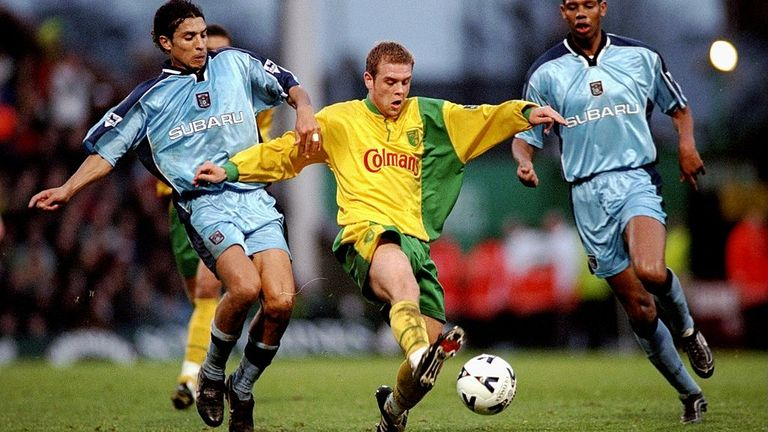 Anselin enjoyed the time he spent playing for Norwich