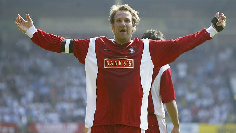 Merson was player and then manager at Walsall