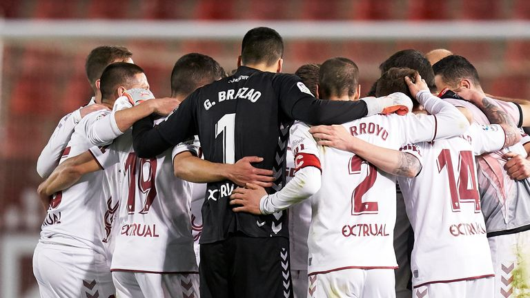 Rayo Vallecano players are in a dispute with the club over pay cuts to staff