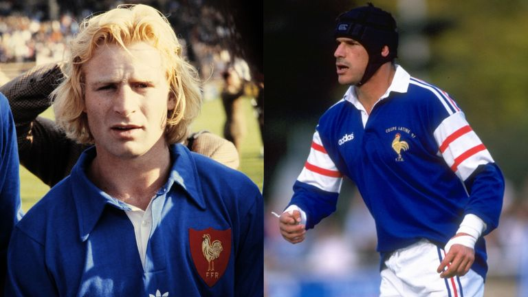 Miles Harrison's picks in his blindside flanker slot within his Rugby Fantasy Land are Jean-Pierre Rives and Laurent Cabannes