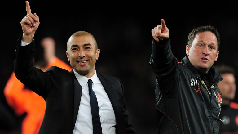 Roberto Di Matteo took over Chelsea and led them to the final