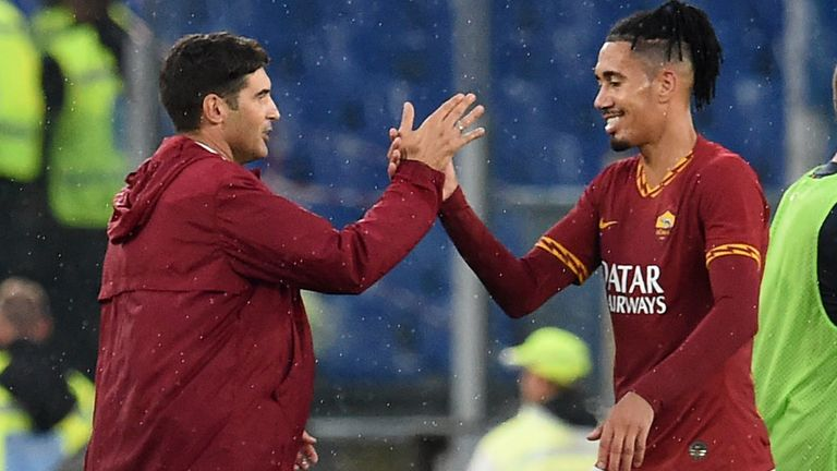 Chris Smalling has enjoyed something of a renaissance under Roma boss Paulo Fonseca