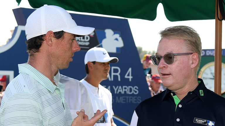 Keith Pelley is aware that the likes of Rory McIlroy are against playing the Ryder Cup without spectators