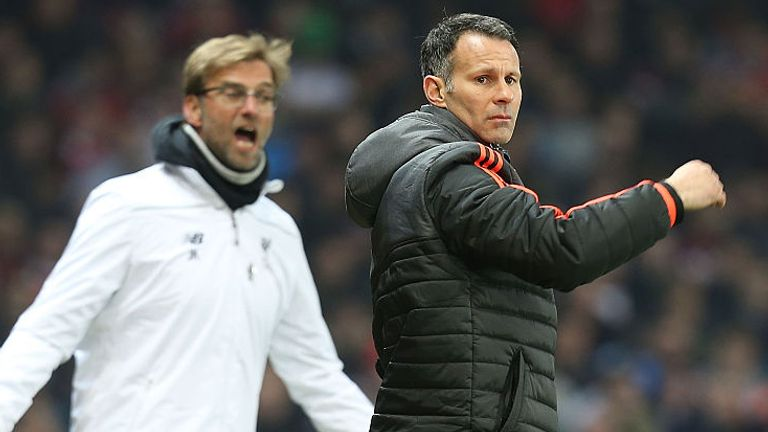 Ryan Giggs says he is influenced by Jurgen Klopp's managerial style