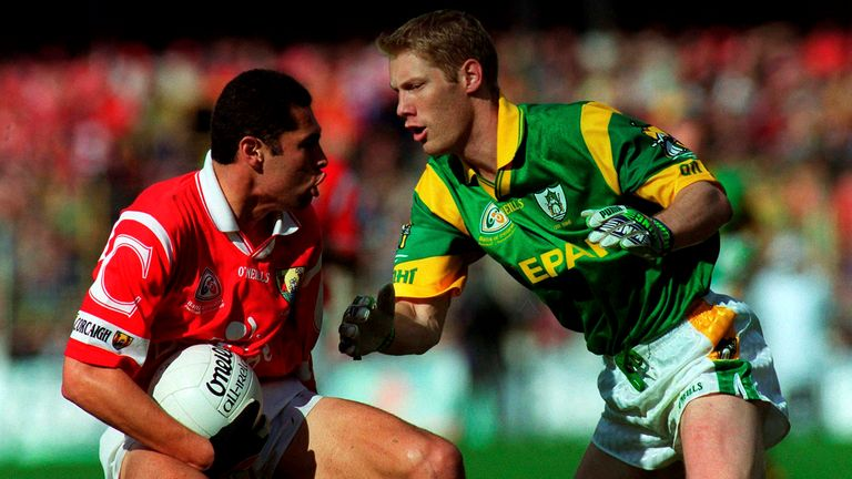 Ó hAilpín played in the 1999 All-Ireland football final, two weeks after bringing Liam MacCarthy back to the banks of the Lee