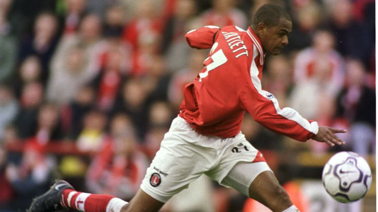 Bartlett strikes the volley against Leicester that Charlton fans will never forget