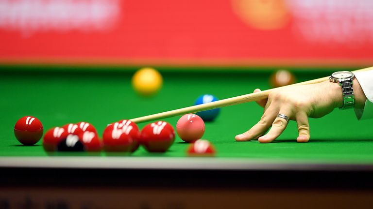 The snooker event in Milton Keynes will be televised and played without spectators