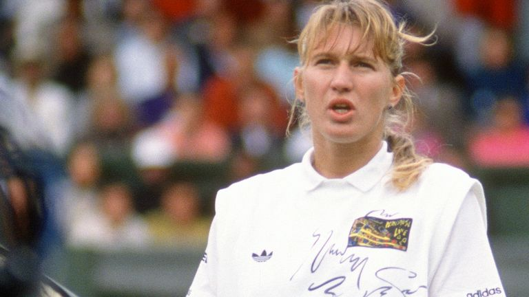 Graf was the dominant force in the women's game