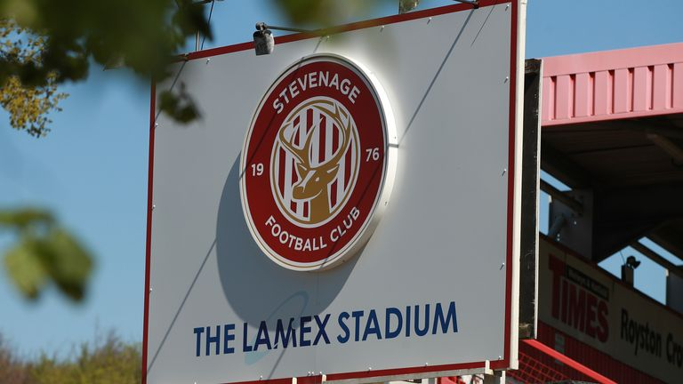 Stevenage face relegation from League Two
