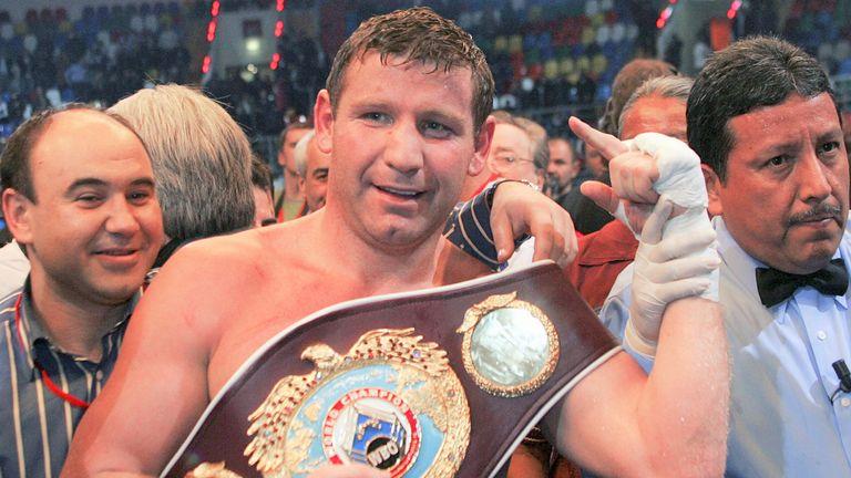 Ibragimov was a former WBO heavyweight champion