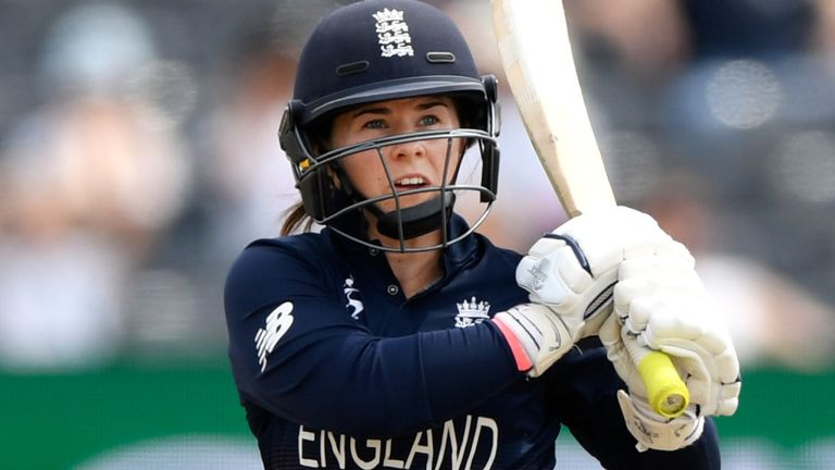 Tammy Beaumont was the leading run-scorer at the 2017 Women's World Cup