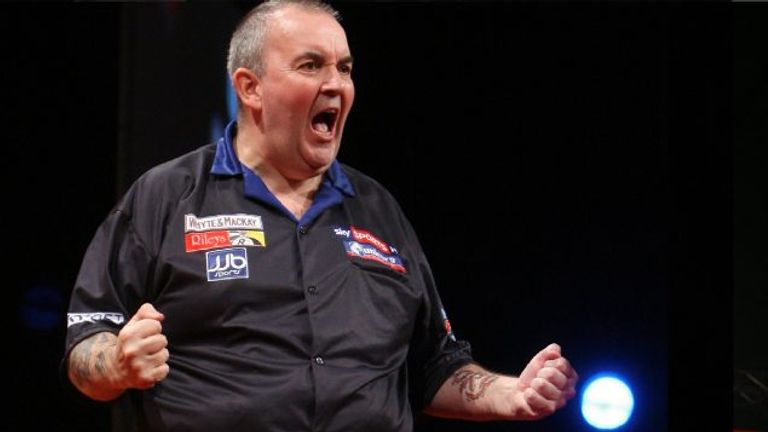 Taylor is a former 16-time darts champion