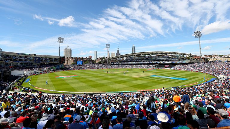 The Oval hosts one England Test match a summer