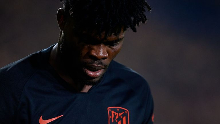 Atletico Madrid midfielder Partey has a release clause of £45m in his existing deal