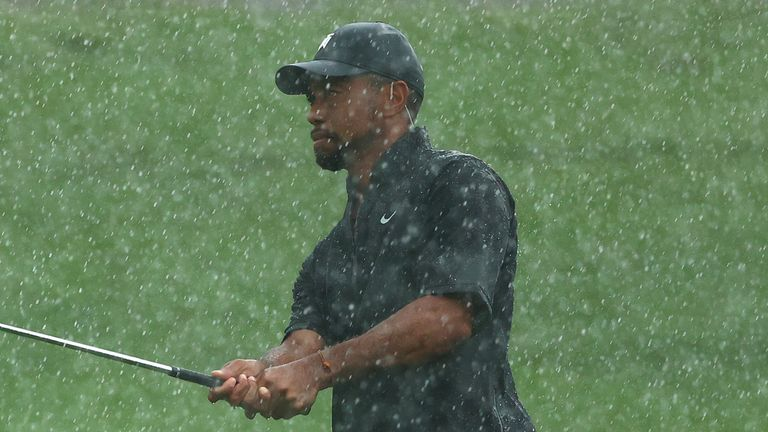Tiger Woods headlined the star-studded charity match