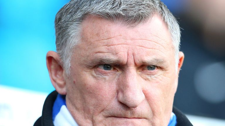 Tony Mowbray says a return for football is difficult while social distancing measures remain in place