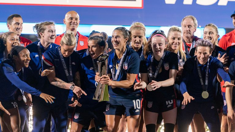 The USA Women's side have vowed to continue their fight