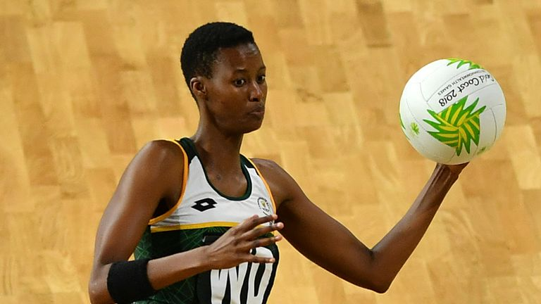 South African Zanele Vimbela made a huge impact with Strathclyde Sirens