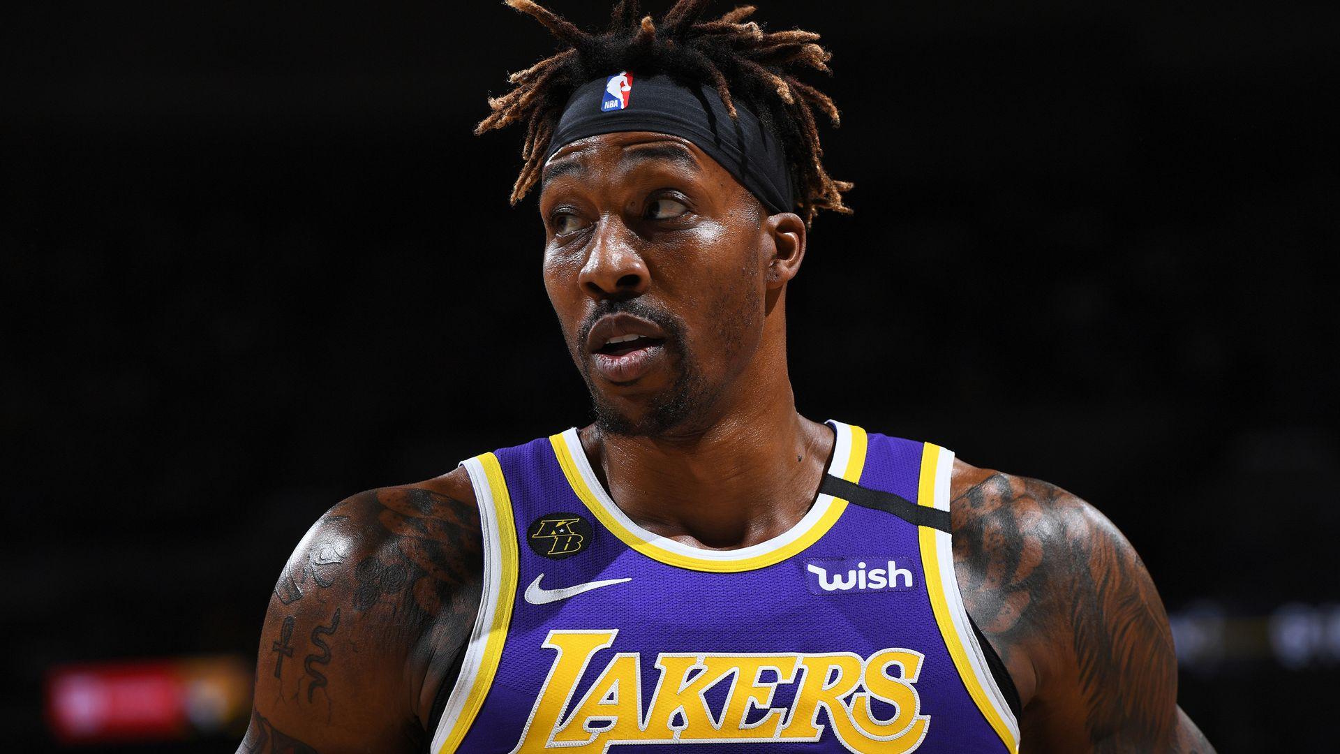 Lakers still hoping Howard will play - sky sports