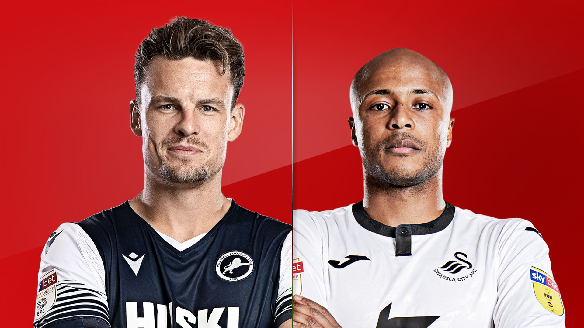 Live on Sky: Millwall vs Swansea