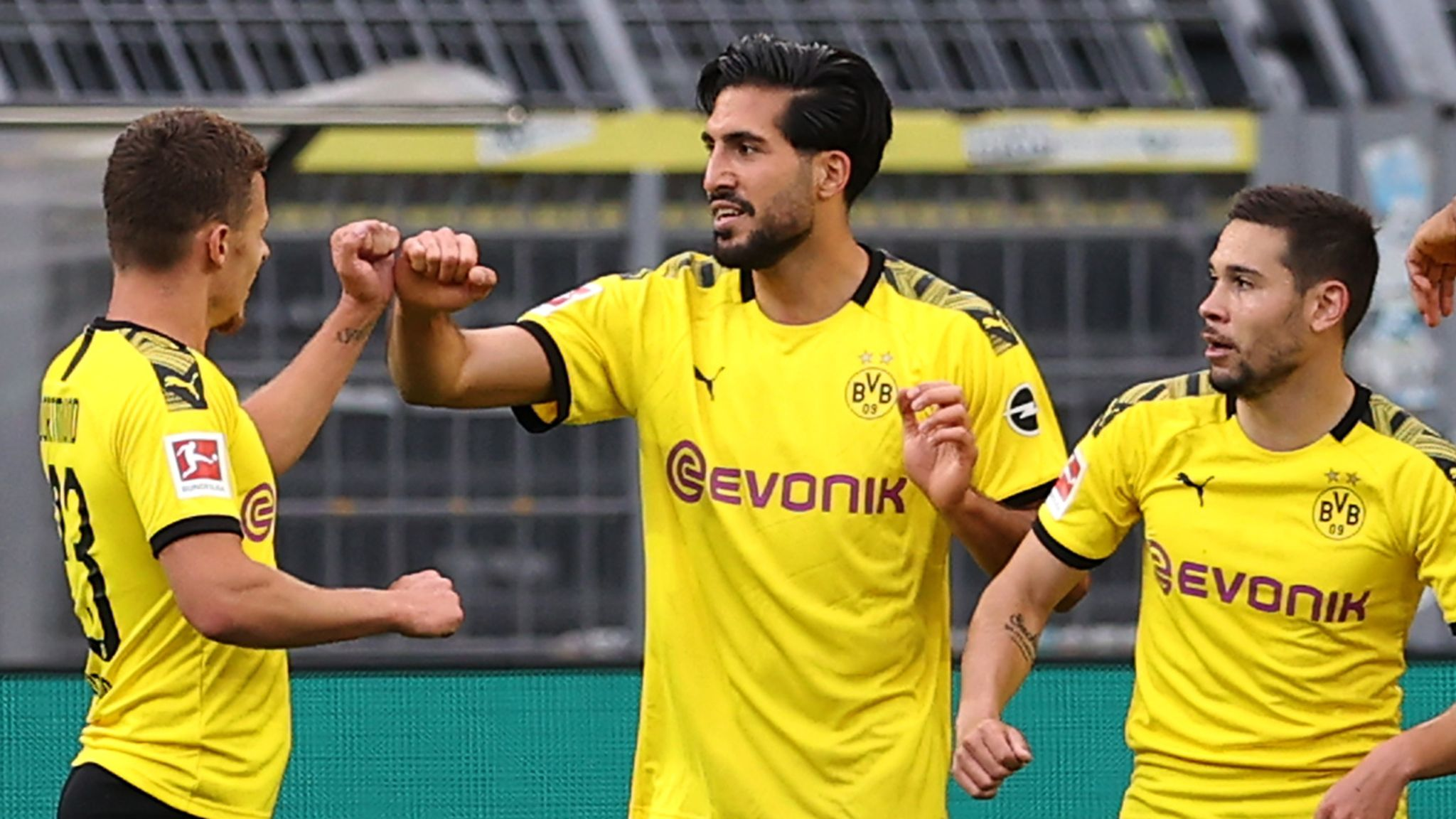 Borussia Dortmund 1-0 Hertha Berlin: Emre Can the unlikely match-winner