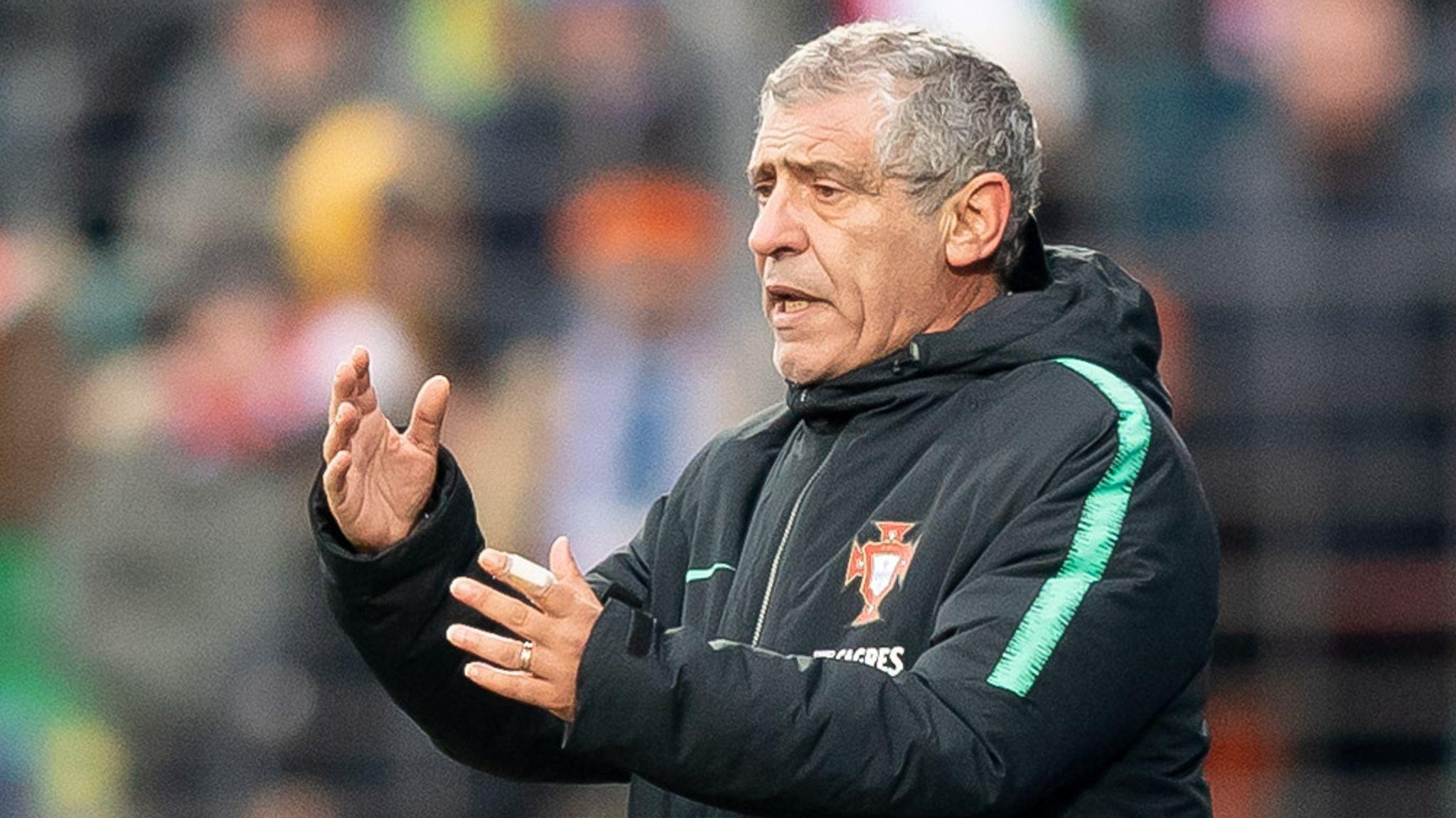 Portugal extend head coach Fernando Santos' deal until Euro 2024   Football  News   Sky Sports