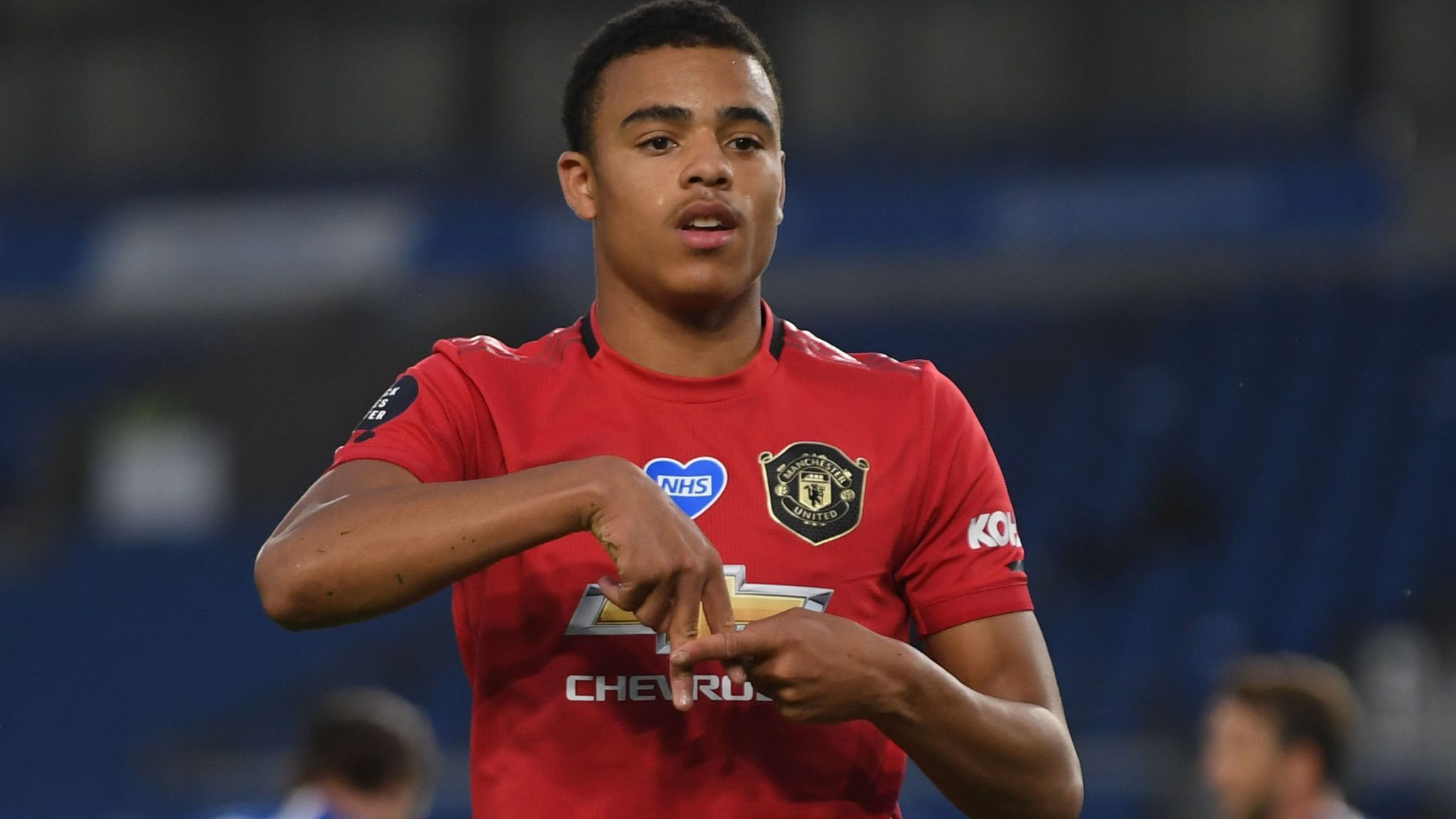 Mason Greenwood Giving Manchester United New Dimension On Right Wing Football News Sky Sports