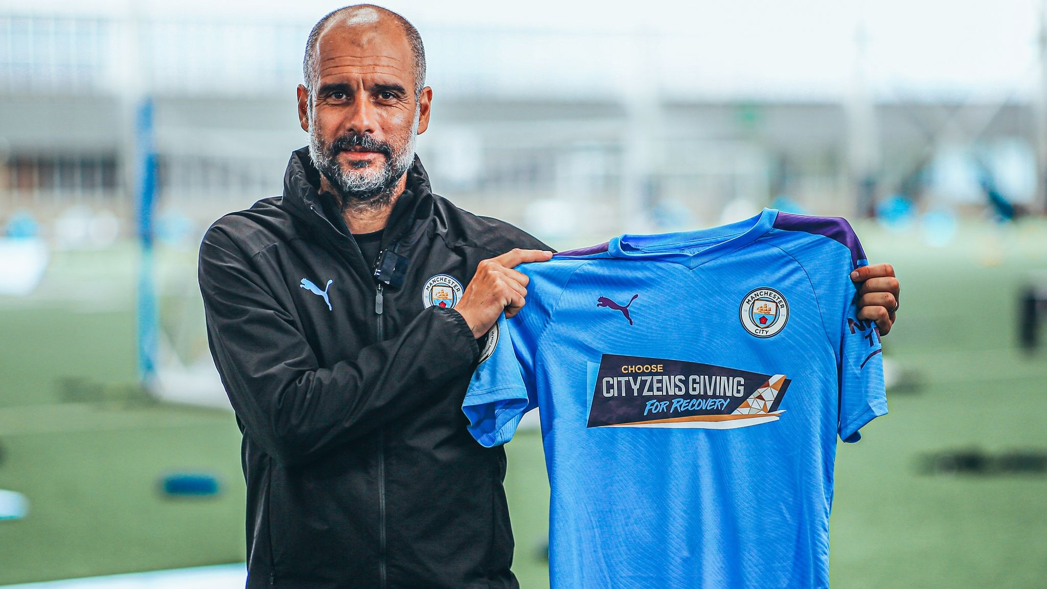 Manchester City To Change Shirts For Arsenal Game For Coronavirus Relief Fund Football News Sky Sports