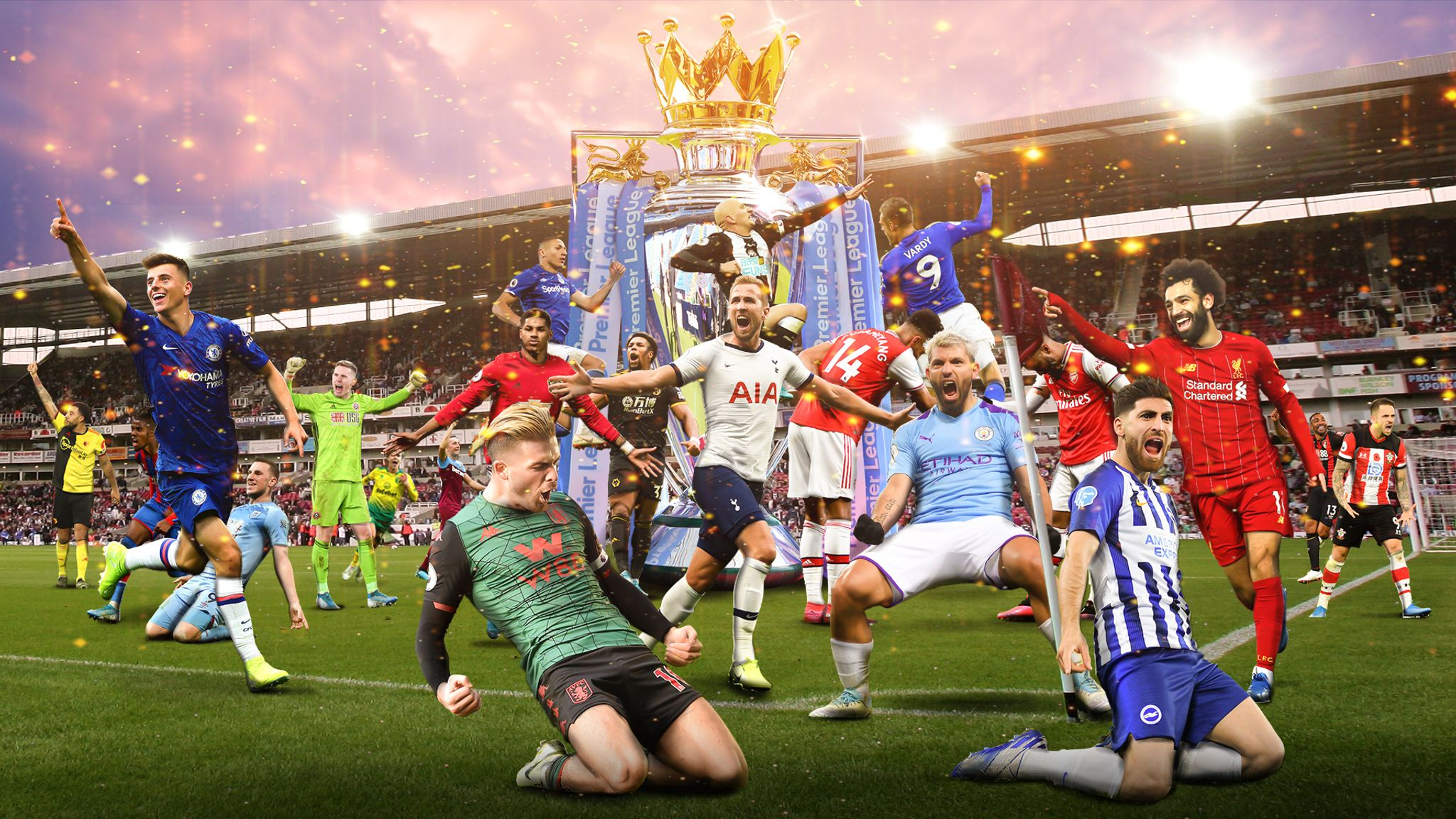 Premier League fixtures on Sky: More kick-offs and matches ...