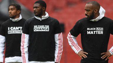 fifa live scores - Black Lives Matter: Premier League players to have 'Black Lives Matter' replacing names on shirts