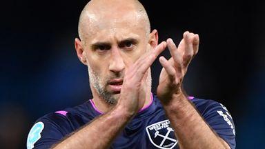 Pablo Zabaleta has made 80 appearances for West Ham