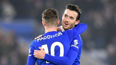 fifa live scores - Leicester City: James Maddison, Ben Chilwell and Christian Fuchs to miss rest of season