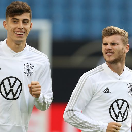 'Werner and Havertz are great players'