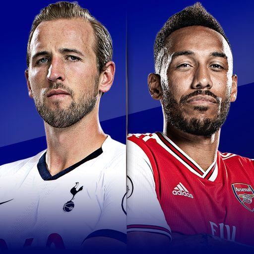 Live on Sky: Tottenham vs Arsenal