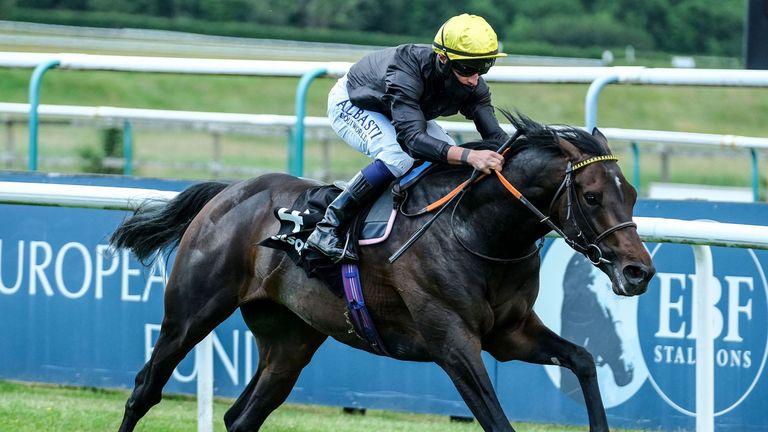 Tom Marquand riding English King to victory