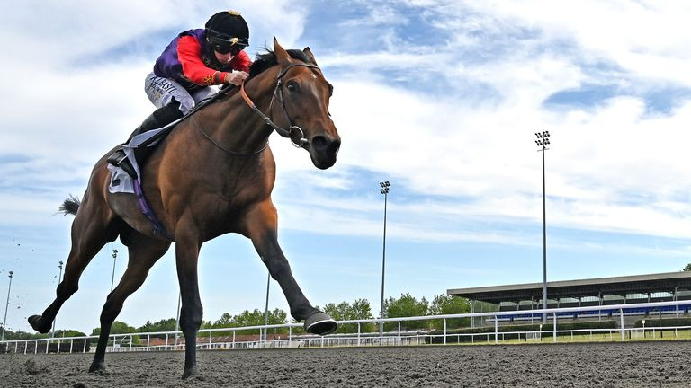 First Receiver wins at Kempton