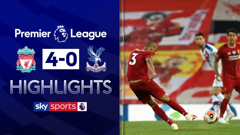 FREE TO WATCH: Highlights of Liverpool vs Crystal Palace in the Premier League