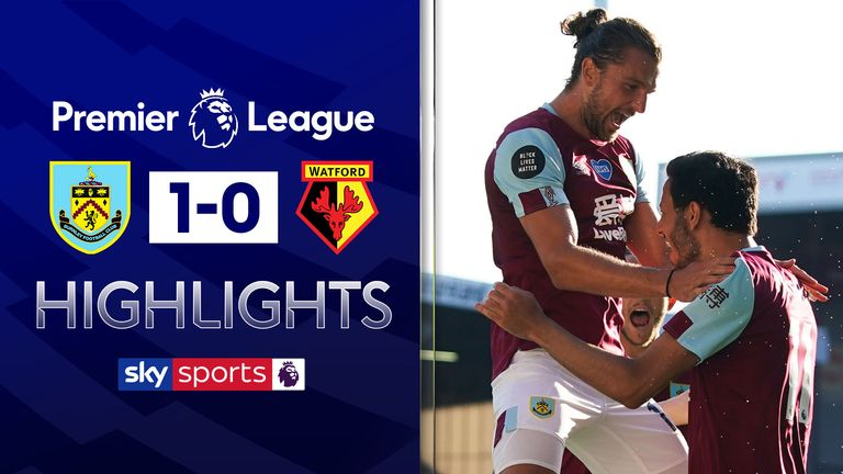 FREE TO WATCH: Highlights from Burnley's win over Watford in the Premier League