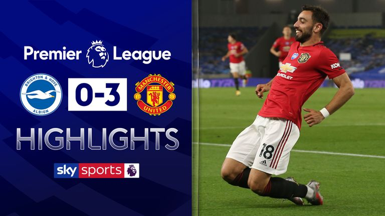 FREE TO WATCH: Highlights from Manchester United's win against Brighton.