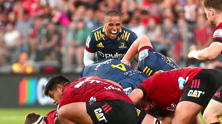 Aaron Smith will drive his forwards on