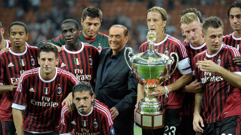 Silvio Berlusconi Former Ac Milan Owner Takes Ac Monza Into Serie B Football News Sky Sports