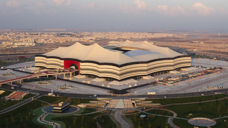 The 60,000-capacity Al Bayt Stadium is also being built for the World Cup in Al Khor