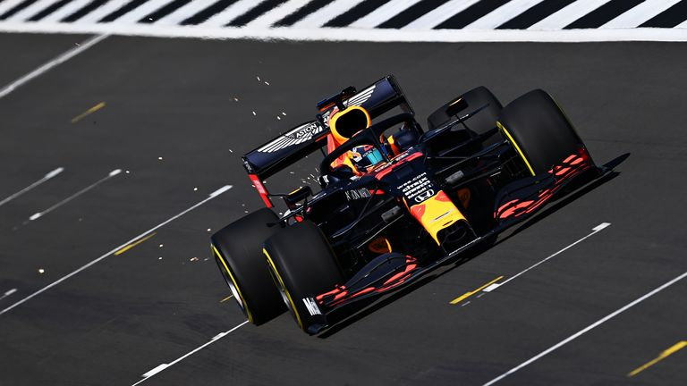 Red Bull Alex Albon Hit Track With F1 2020 Title Challenger At Silverstone F1 News